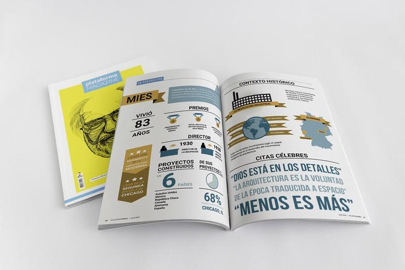 PLATAFORMA MAGAZINE - Diseño Editorial 4