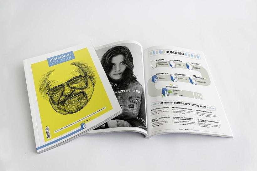 PLATAFORMA MAGAZINE - Diseño Editorial 3