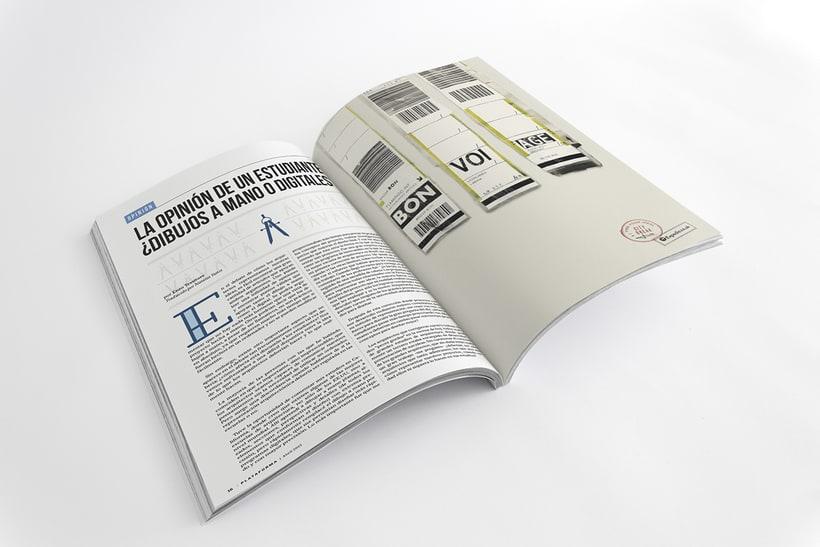 PLATAFORMA MAGAZINE - Diseño Editorial 13