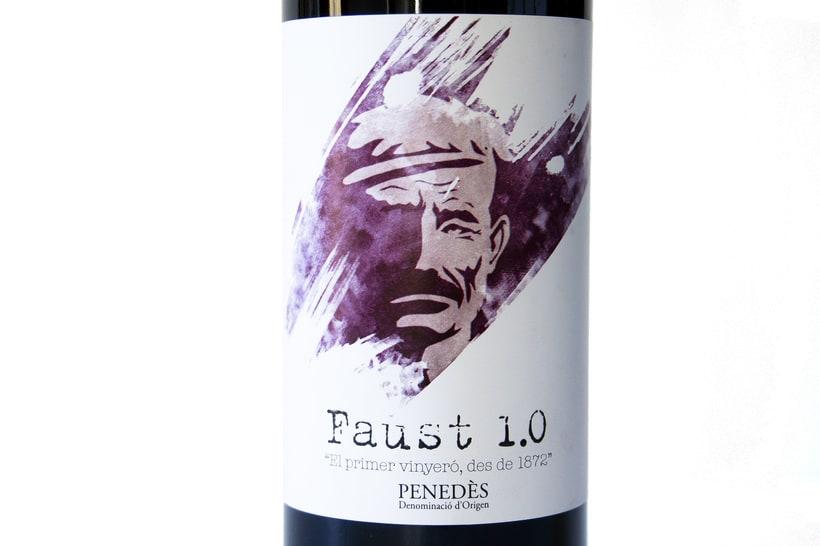 Etiqueta de vino Faust 1.0 4