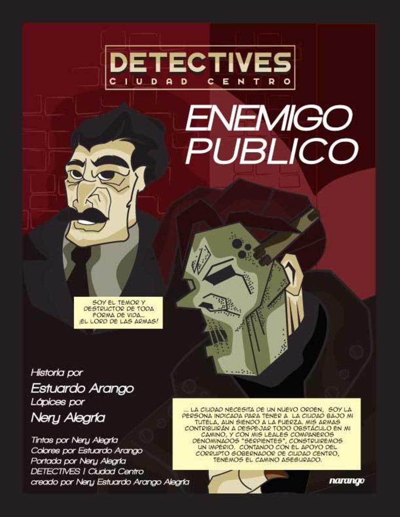 Detectives Ciudad Centro 5