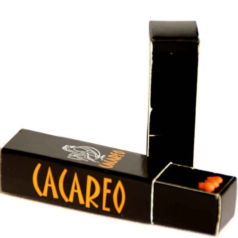 Cajas de Cerillas para Restaurante Cacareo 2