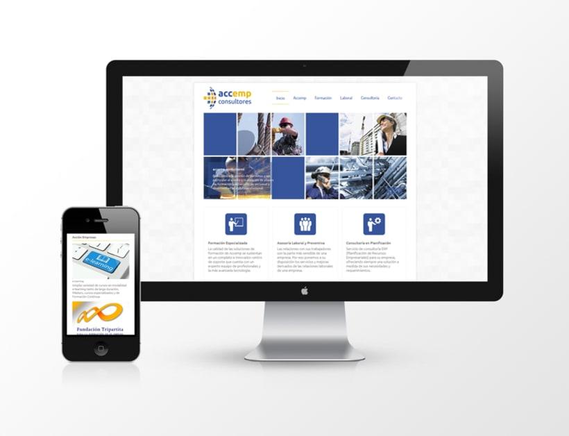 Página web Accemp Consultores 0