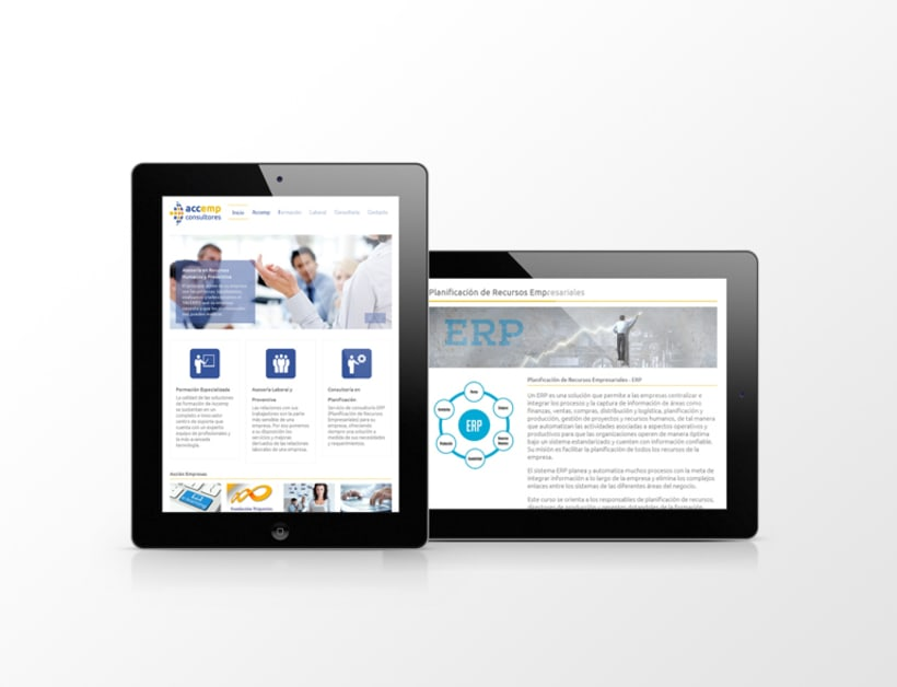 Página web Accemp Consultores 1