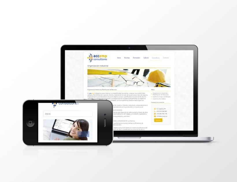 Página web Accemp Consultores 2