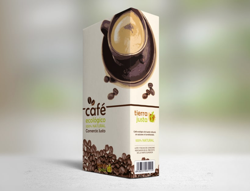 Packaging Café Tierra Justa 0
