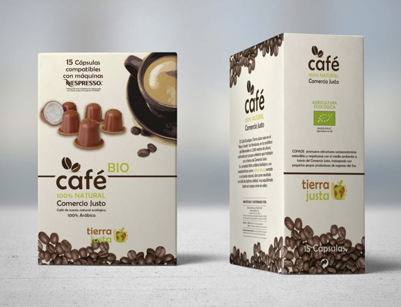 Packaging Café Tierra Justa 3