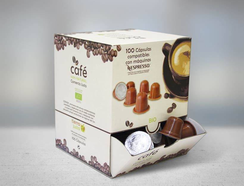 Packaging Café Tierra Justa 4
