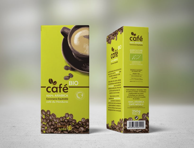 Packaging Café Tierra Justa 5