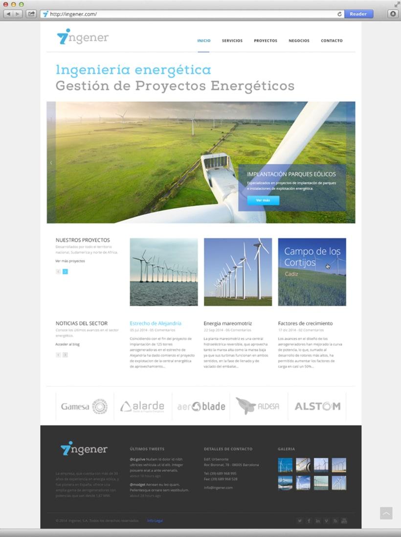 Página web Ingener -1