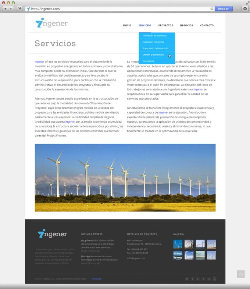 Página web Ingener 0