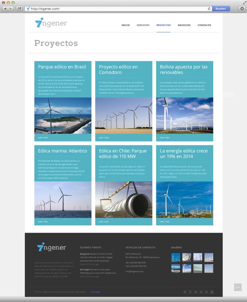 Página web Ingener 1