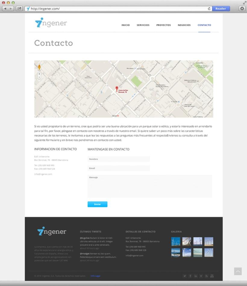 Página web Ingener 3