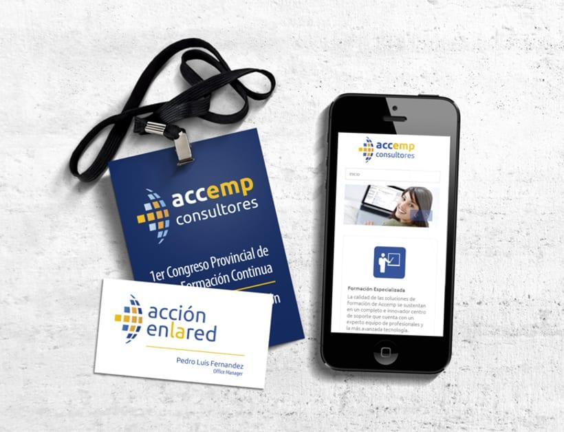 Identidad corporativa Accemp y Accionenlared -1