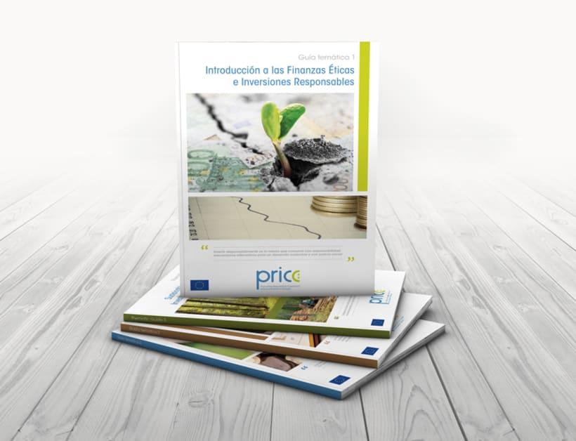 Maquetación y diseño de Guías Temáticas del proyecto PRICE -1