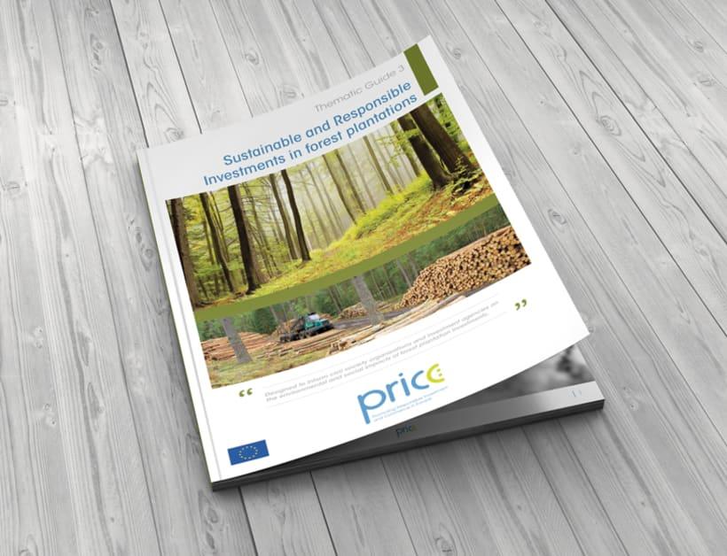 Maquetación y diseño de Guías Temáticas del proyecto PRICE 0