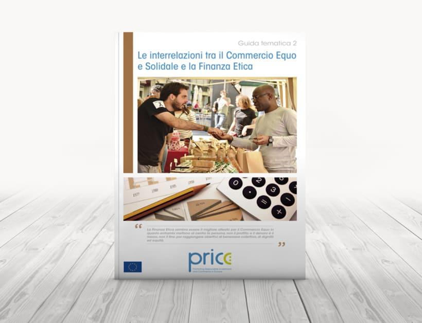Maquetación y diseño de Guías Temáticas del proyecto PRICE 1