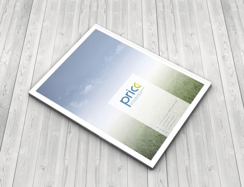Maquetación y diseño de Guías Temáticas del proyecto PRICE 5