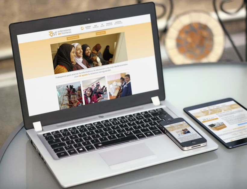 Página web para Ordenadores Sin Fronteras -1