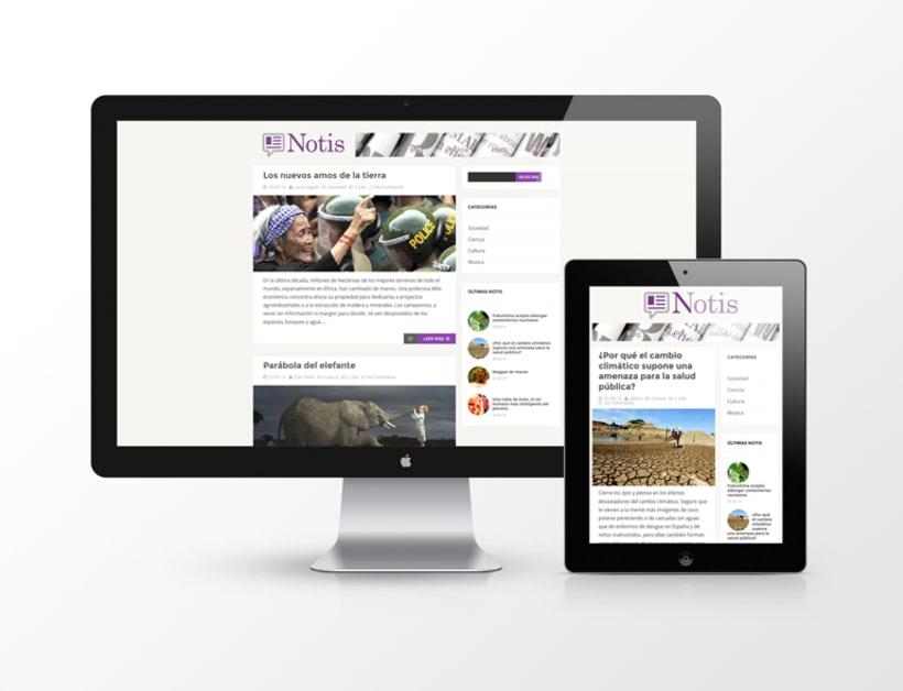 Página web Notis -1