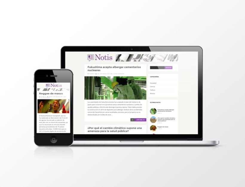 Página web Notis 0