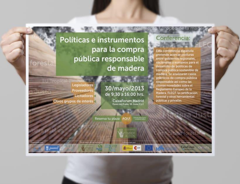 Promoción de evento Sustainable Timber Action 0