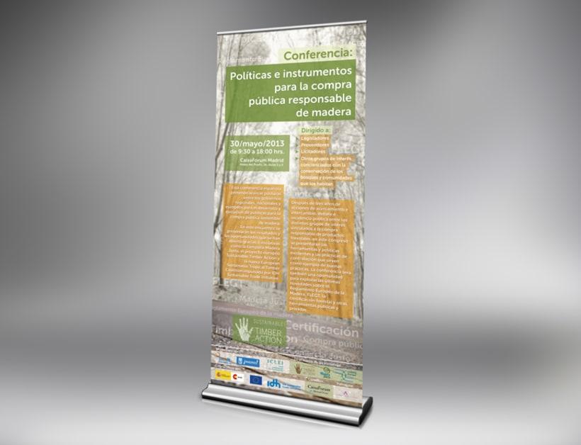 Promoción de evento Sustainable Timber Action 1