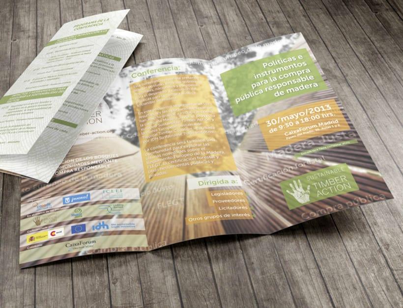 Promoción de evento Sustainable Timber Action 2