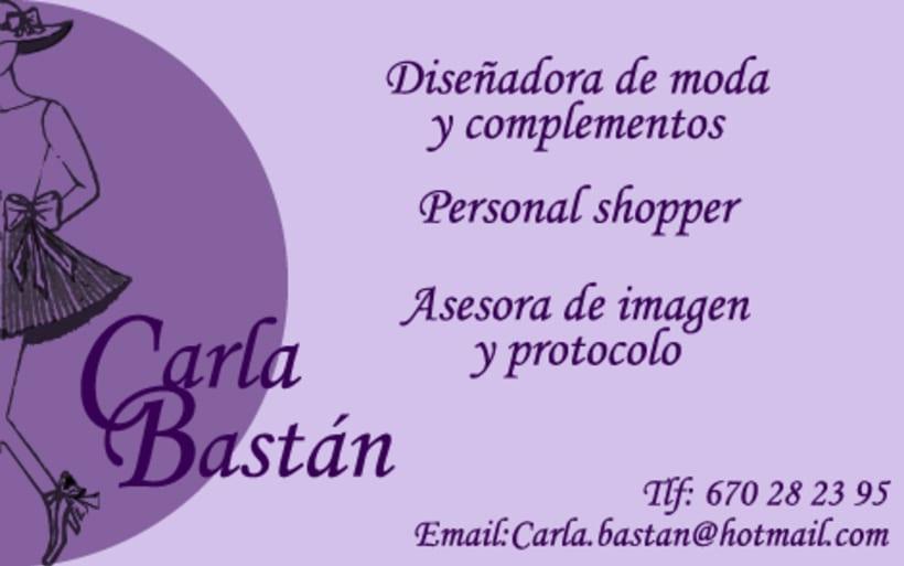 Carla Bastan, diseñadora de moda y complementos 0