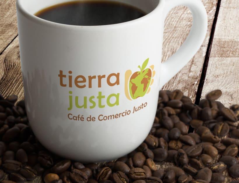 Logotipo para la marca Tierra Justa 0