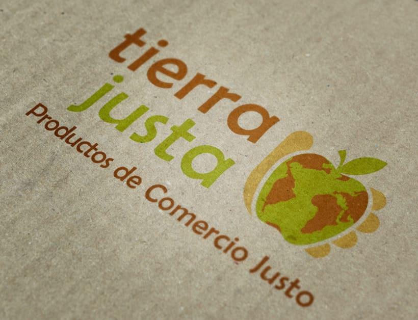 Logotipo para la marca Tierra Justa 1