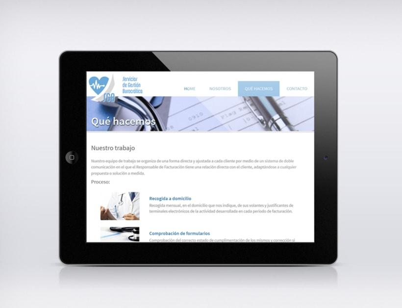 Pagina web para SGB 2