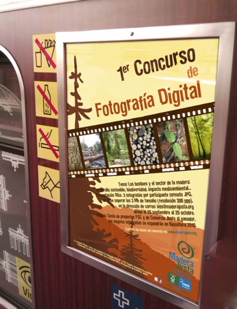 Cartel para el 1er concurso de Fotografía Digital 0