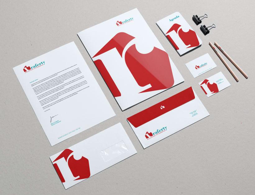 Identidad corporativa para la empresa Raferty 0