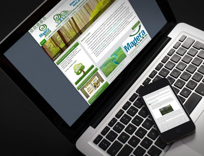 Página web de Madera Justa 1