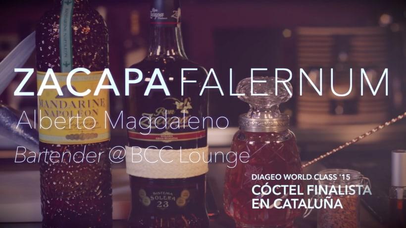 Zacapa Falernum - cóctel por Alberto Magdaleno @BCC Lounge -1