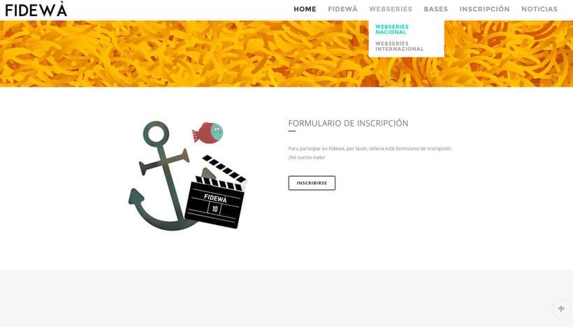 Diseño web Fidewà 2