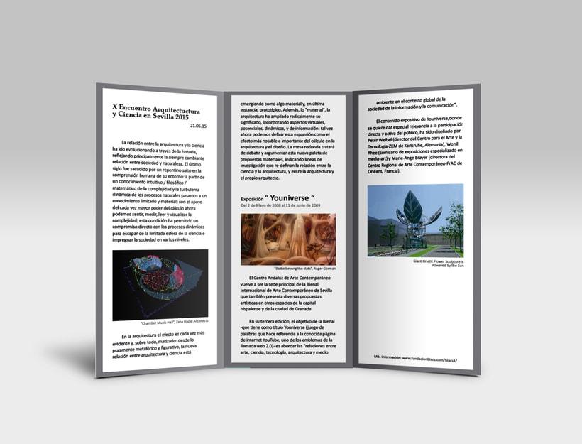 X Encuentro ( gráfica, folleto y banner ) 5