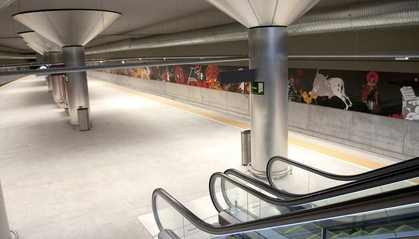Estación de Goya, Zaragoza 1