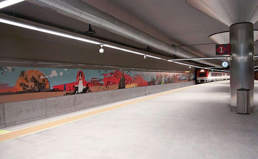 Estación de Goya, Zaragoza 0