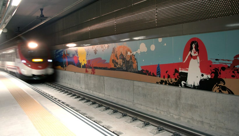 Estación de Goya, Zaragoza 2