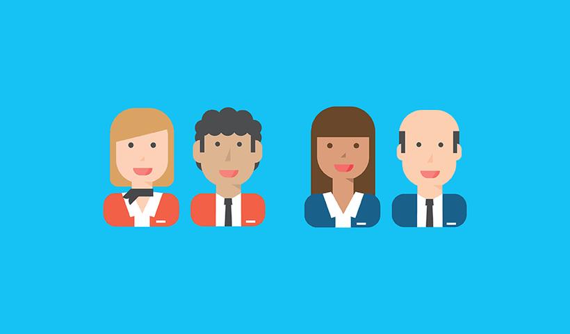 Customerville | ilustraciones para artículos digitales 1