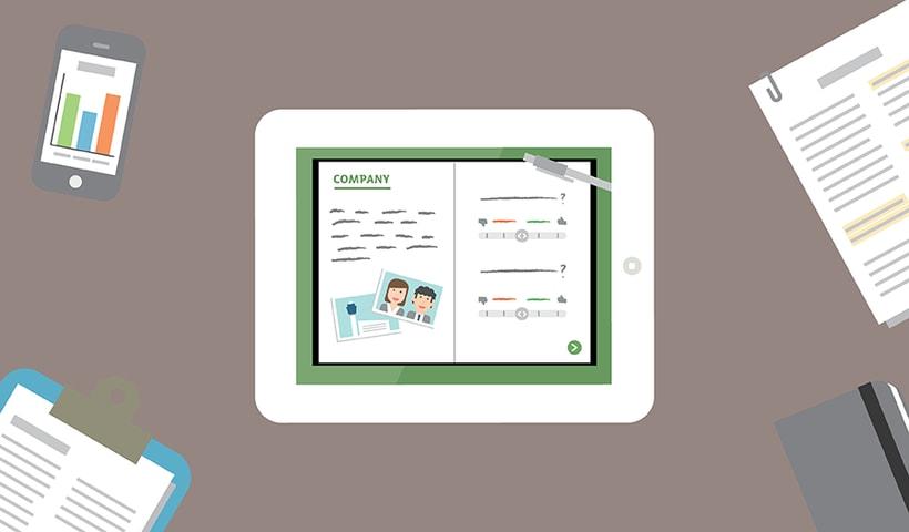 Customerville | ilustraciones para artículos digitales 2