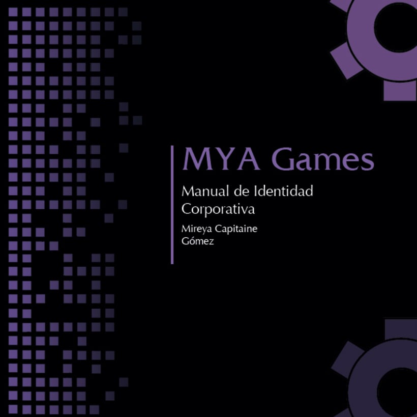 Manual de Identidad Corporativa - MYA Games 2