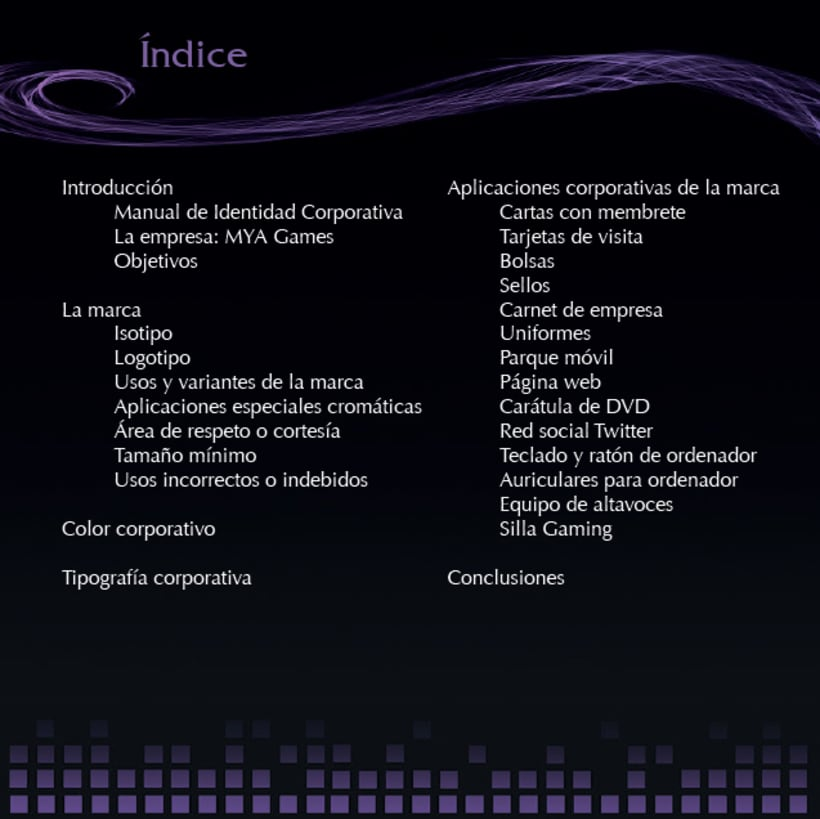 Manual de Identidad Corporativa - MYA Games 3