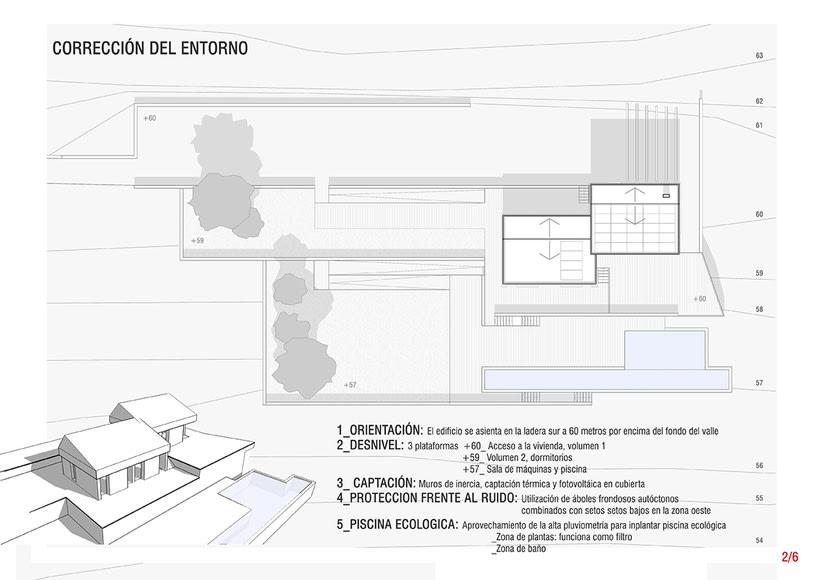 Arquitectura sostenible, vivienda unifamiliar en Donostia-San Sebastián 2