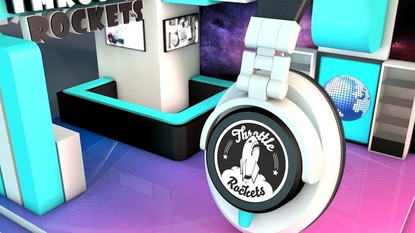 Stand Music Rockets 2