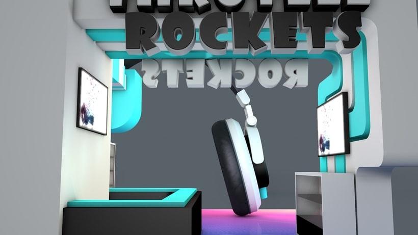 Stand Music Rockets 3