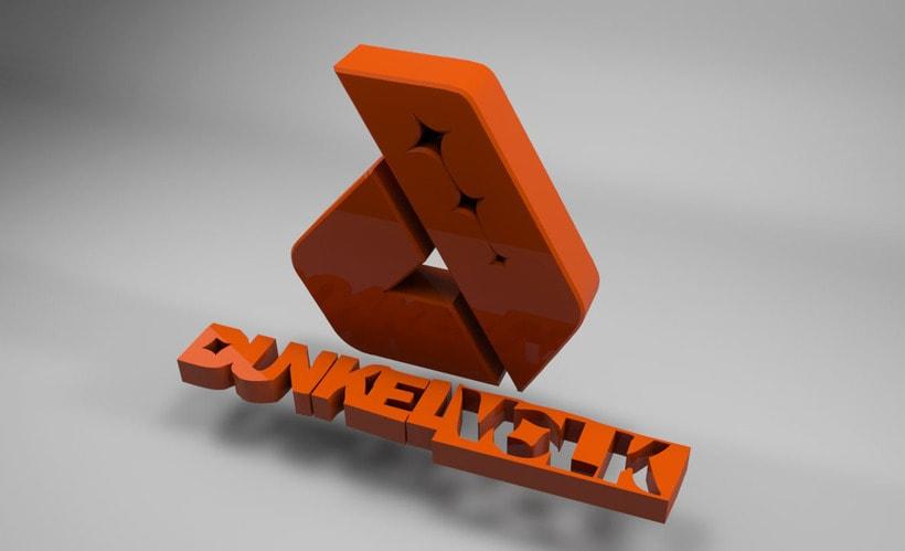 Logo Dunkelvolk 3D 0