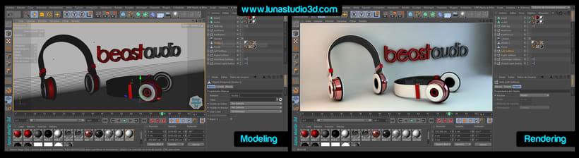 Diseño 3D -Beast  0